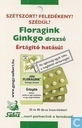 Floragink Ginkgo drazs