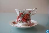 Centennial Rose - Teetasse mit Untertasse