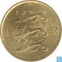 Estonia 20 senti 1992