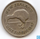 Coin - New Zealand - New Zealand 1 florin 1947