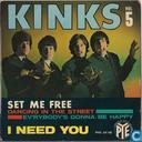 Kinks Vol. 5: Set me free