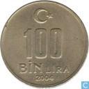 Türkei 100 Bin Lira 2004