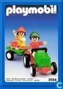 les enfants avec tracteur
