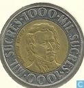 Coins - Ecuador - Ecuador 1000 sucres 1996