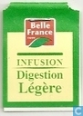 Tea bag label - Belle France - Infusion Digestion Légère