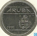 Aruba 5 cents 1991