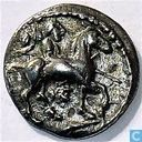 Coin - Greece - Thessaly Larissa AR Trihemiobol approximately 479-460 BC