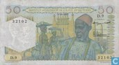 Frans West Afrika 50 Francs