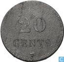 Oudste item - 20 cents 1823 Correctiehuis St. Bernard