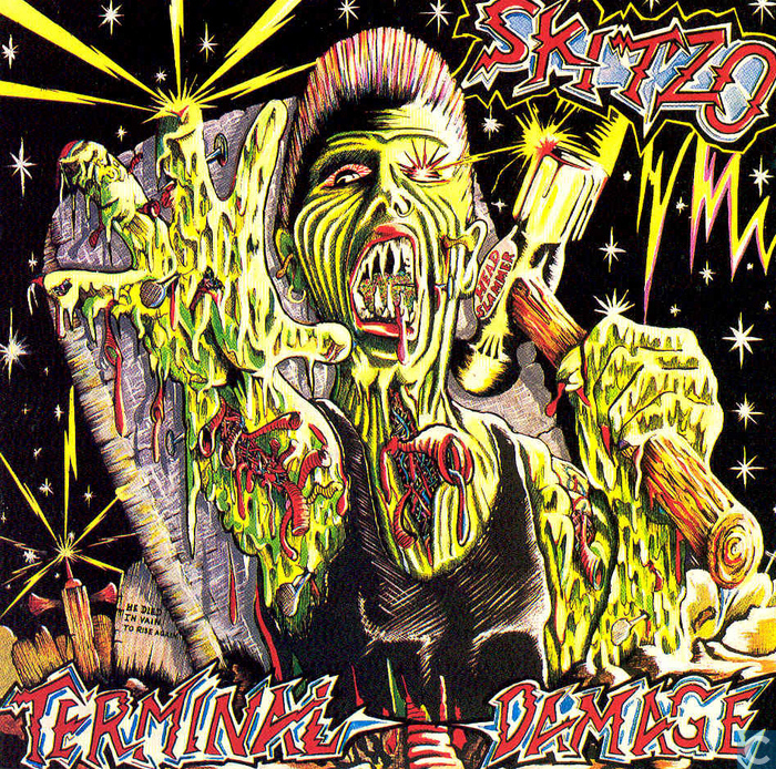 Vinyl records and CDs - Skitzo - Terminal damage