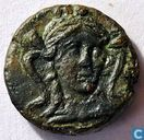 Oudste item - Luciana Metapontion AE16 ca 300-250 BC