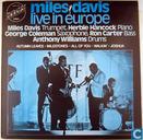 Miles Davis live in Europe