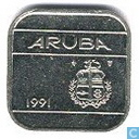 Aruba 50 cents 1991