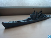 HMS Vanguard old model