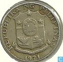 Coins - Philippines - Philippines 25 sentimos 1971