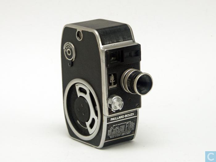 b8 paillard bolex 8mm camera en berthiot lens. Black Bedroom Furniture Sets. Home Design Ideas