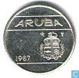 Aruba 10 cents 1987