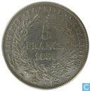 Frankreich 5 Franc 1851