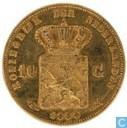 Pays-Bas 10 gulden 1888