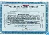 Securities and bonds - Waltham Watch Company - Waltham Watch Company, Voting Trust Certificate, Common stock