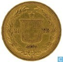 Switzerland 20 francs 1894