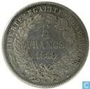 Frankreich 5 Franc 1849 (BB - Ceres)