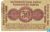 Billets de banque - Posen - Ostbank für Handel und Gewerbe - Kopeken Posen 50