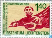Timbres-poste - Liechtenstein - La coopération culturelle avec le Costa Rica