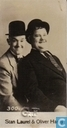 Albumsticker - Clovis Chocolat - Stan Laurel & Oliver Hardy