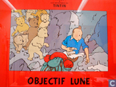 Affiches en posters - Strips - Objectif Lune