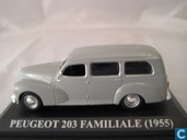 Model cars - Altaya - Peugeot 203 Familiale