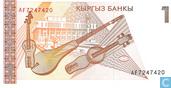 Bankbiljetten - Kyrgyz Bank - Kirgizië 1 Som