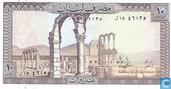 Banknoten  - Banque du Liban - Libanon 10 Livres