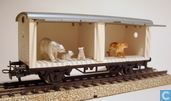 "Model trains / Railway modelling - Märklin Primex - Gesloten wagen ""Sarrasani"""