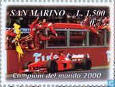 Postage Stamps - San Marino - Winner Grand Prix