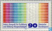 Postage Stamps - Germany, Federal Republic [DEU] - Congress training hearing impaired