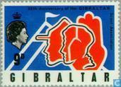 Timbres-poste - Gibraltar - 60 ans de Scoutisme