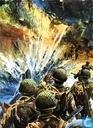 """Comic Books - 25 jaar geleden - """"Operatie Overlord"""" - Kuifje 22"""