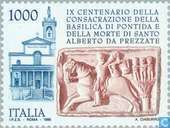 Postage Stamps - Italy [ITA] - Basilica Pontida 900 years