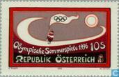 Postzegels - Oostenrijk [AUT] - Olympische Spelen- Atlanta