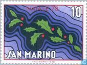 Briefmarken - San Marino - Weihnachten