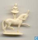 Acrobat à cheval