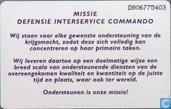 Phone cards - PTT Telecom - Defensie Interservice Commando