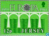Timbres-poste - Jersey - Europe – Pont