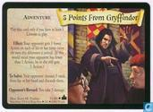 Trading cards - Harry Potter 4) Adventures at Hogwarts - 5 Points From Gyffindor - Promo