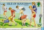 Postage Stamps - Man - Europe – Children's games
