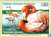 Postzegels - Verenigde Naties - Genève - Bedreigde dieren