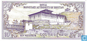 Bankbiljetten - Bhutan - 1985-1992 ND Issue - Bhutan 10 Ngultrum ND (1986)