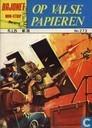 Bandes dessinées - Bajonet - Op valse papieren