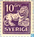 Timbres-poste - Suède [SWE] - Lion debout